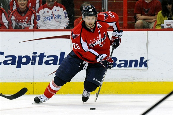 Washington Capitals winger Troy Brouwer