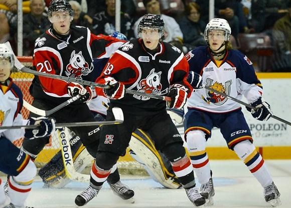 Ryan Strome and Brett Ritchie - Niagara IceDogs