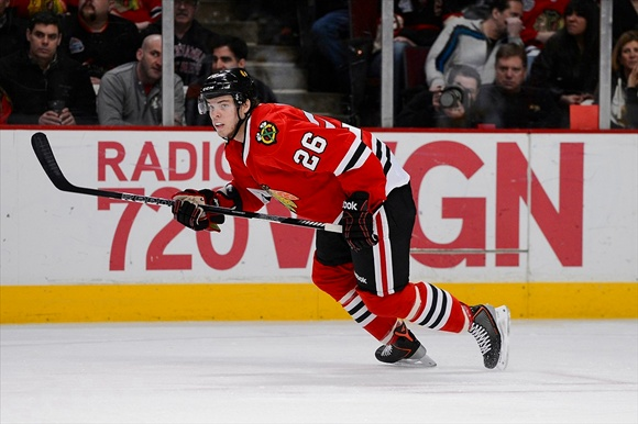 Jeremy Morin - Chicago Blackhawks