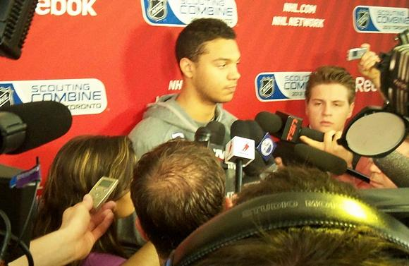 2013 NHL Combine - Seth Jones, Portland Winterhawks