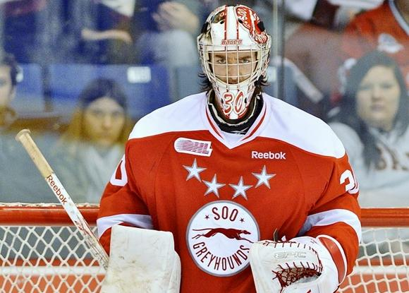 Matt Murray - Sault Ste. Marie Greyhounds
