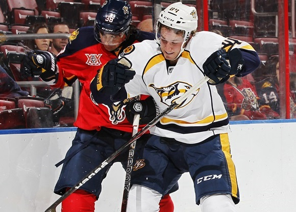 Colton Sissons - Nashville Predators