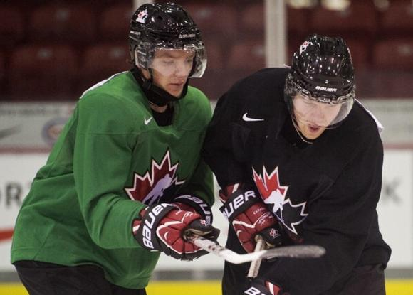 Sam Reinhart and Griffin Reinhart - Team Canada