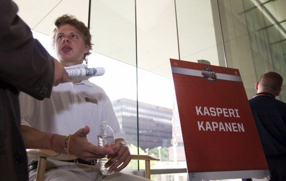 Kasperi Kapanen - 2014 NHL Draft - Top Prospects Media Availability