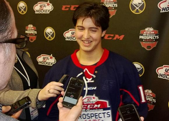 2014 All-American Prospects Game: Eichel, linemates star in Team Grier's 6-3 win