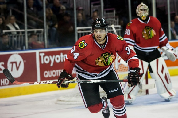 NHL: SEP 13 Rookie Tournament - Blackhawks v Maple Leafs