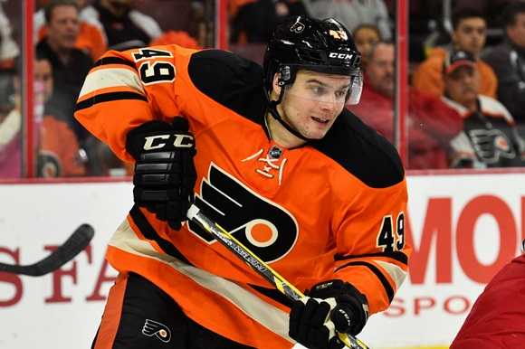 Scott Laughton - Philadelphia Flyers