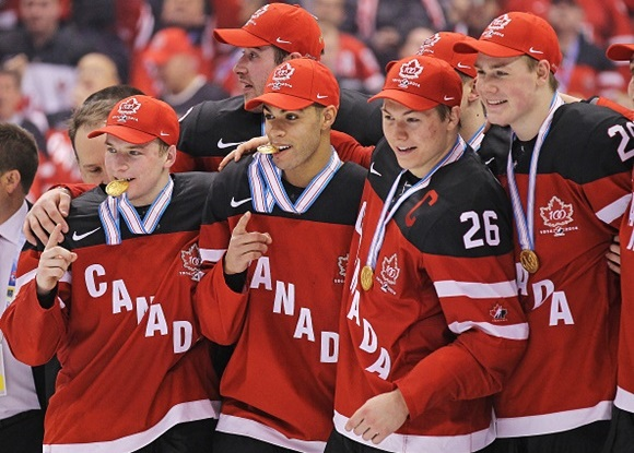 Team Canada - Gold Medal - 2015 IIHF World Junior Championship
