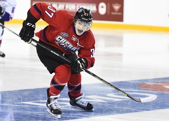 Evgeny Svechnikov - Team Cherry - 2015 BMO CHL/NHL Top Prospects Game