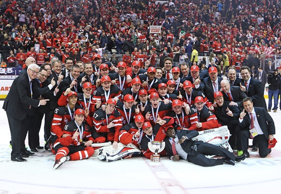 Team Canada - Gold Medal Winners - 2015 World Junior Hockey Championship