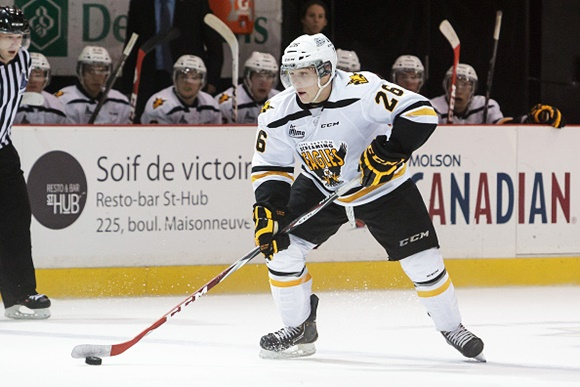 Lok Leveille - Cape Breton Screaming Eagles