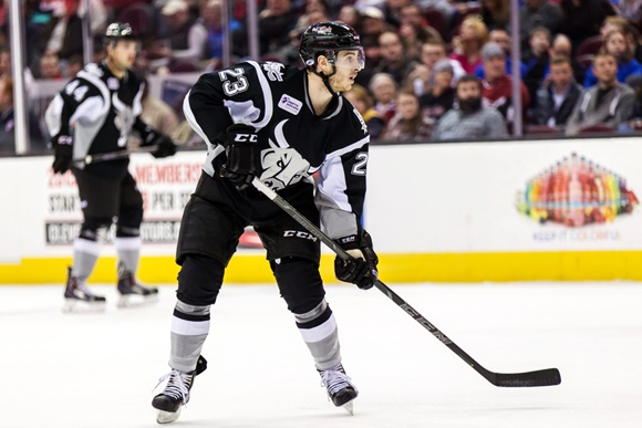 Connor Brickley - San Antonio Rampage