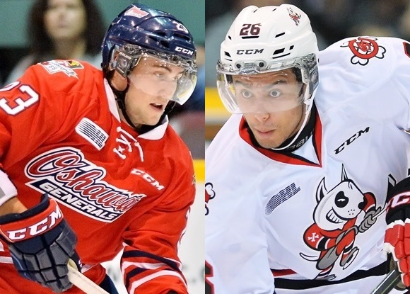 Tobias Lindberg - Oshawa Generals; Josh Ho-Sang - Niagara IceDogs - Prospect Impressions: CHL, USHL playoffs continue as top prospects go head-to-head