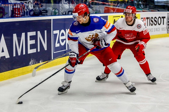 Artemi Panarin - Team Russia - 2015 IIHF Ice Hockey World Championship