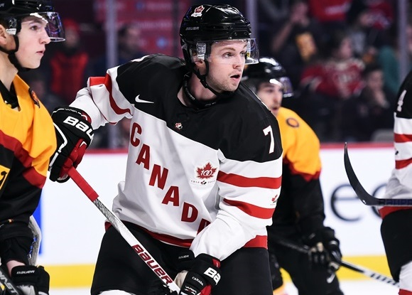 Josh Morrissey - Team Canada - 2015 IIHF U20 World Junior Championship