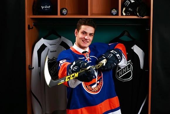 Mathew Barzal - New York Islanders - 2015 NHL Draft