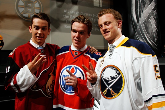2015 NHL Draft: Notes and Numbers from Sunrise