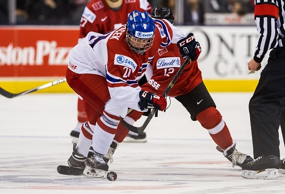 Michael Spacek - Czech Republic - 2015 IIHF World Junior Championship