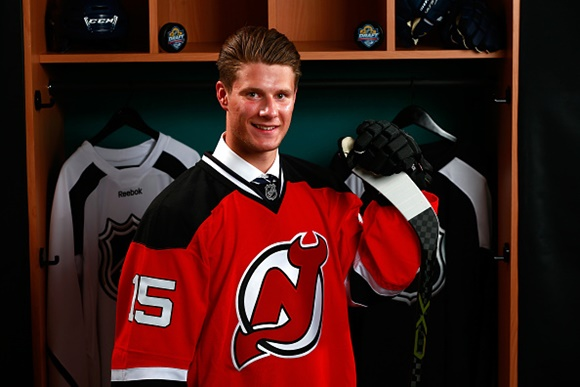 [2015 NHL Draft] First Round, Sixth Overall: New Jersey Devils add center depth with selection of Pavel Zacha