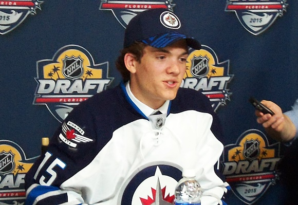 Jack Roslovic - Winnipeg Jets - 2015 NHL Draft
