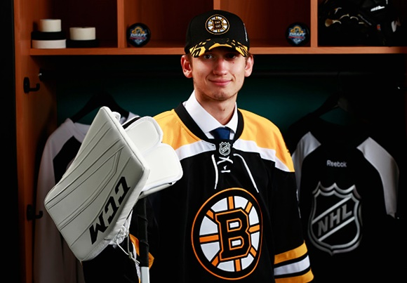 Daniel Vladar - Boston Bruins - 2015 NHL Draft