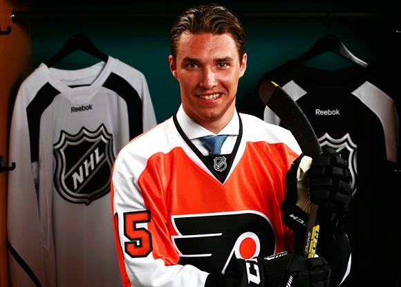 Photo: ISS Hockey correctly ranked Ivan Provorov at 7th overall, where he was selected by the Philadelphia Flyers. (Courtesy of Jeff Vinnick/NHLI via Getty Images)