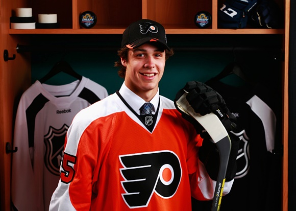 Samuel Dove-McFalls - Philadelphia Flyers - 2015 NHL Draft