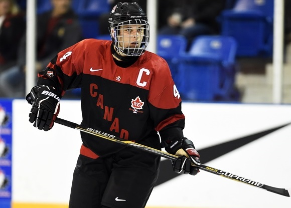 (Video) 2015 Ivan Hlinka Memorial Tournament: Kale Clague, Canada