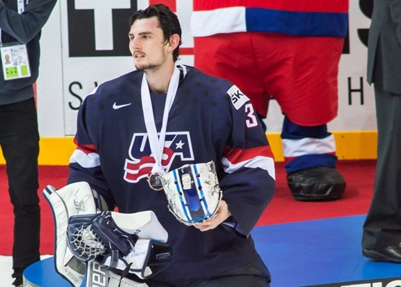 Connor Hellebuyck - Team USA - IIHF Ice Hockey World Championship