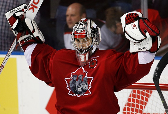 Zach Fucale -Quebec Remparts - 2015 Memorial Cup