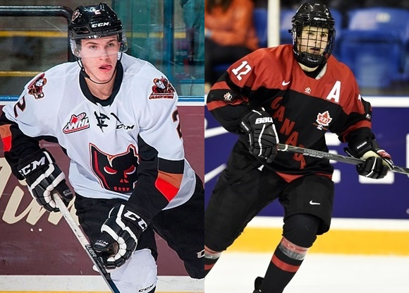 Jake Bean - Calgary Hitmen; Sam Steel - Regina Pats - Prospect Faceoff for 11/25/15