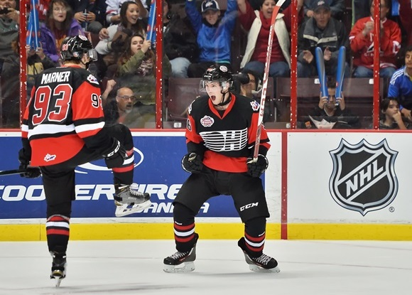 Mitch Marner amd Spencer Watson - Team OHL - CHL Canada Russia Series