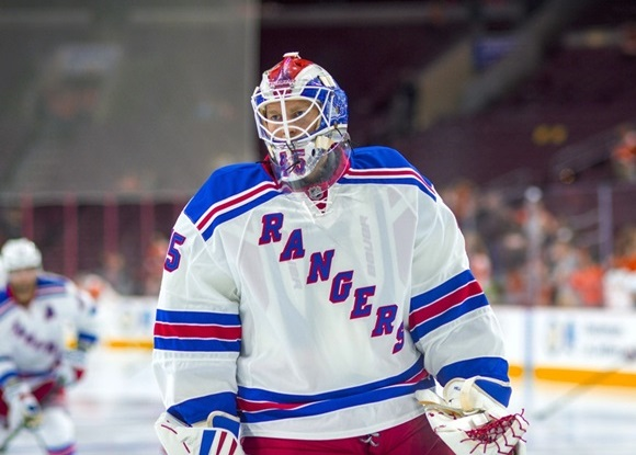 Photo: Magnus Hellberg is part of a deep stable of New York Rangers goaltenders developing below the NHL level. (Courtesy of Gavin Baker/Icon Sportswire)