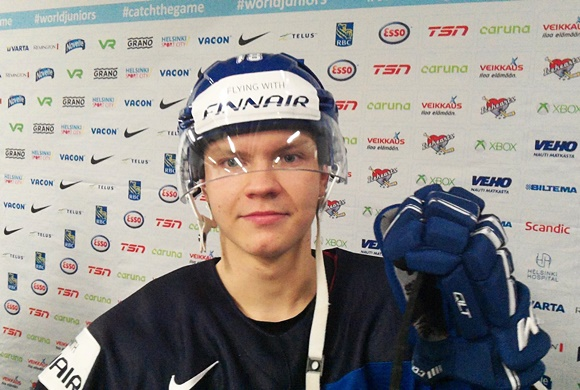 Vili Saarijarvi - Team Finland - 2016 IIHF World Junior Championship