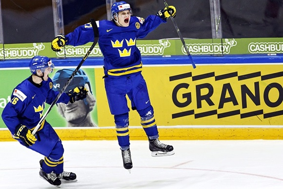 Anton Karlsson - Team Sweden - 2016 IIHF World Junior Championship