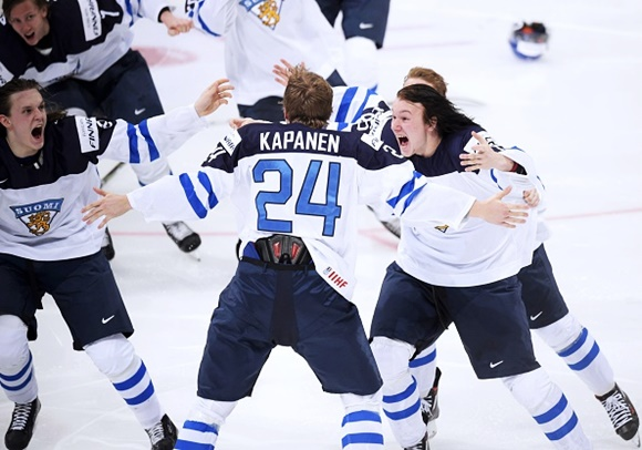 Kasperi Kapanen and Joni Tuulola - Team Finland - 2016 IIHF World Junior Championship