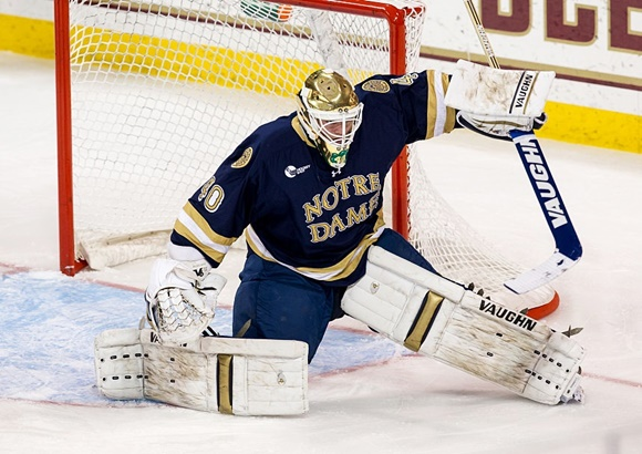 Cal Petersen - University of Notre Dame