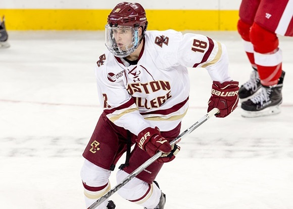 2016 NCAA Frozen Four: BC's White looking to cap off impressive frosh campaign with national title