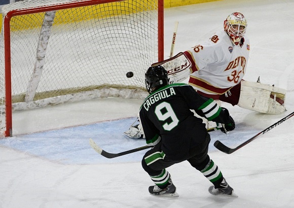2016 NCAA Frozen Four Preview: Top college lines go head-to-head when Denver and North Dakota faceoff