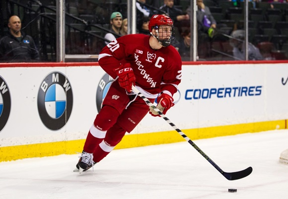 Photo: Ed Wittchow has completed his senior season at the University of Wisconsin. (Courtesy of David Berding/Icon Sportswire)