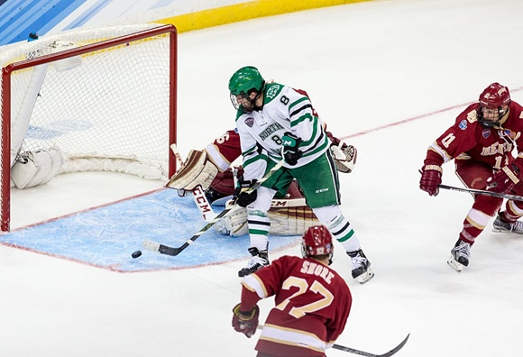 2016 NCAA Frozen Four: North Dakota makes long-awaited return to title game after win over Denver