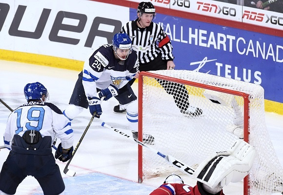 Kasperi Kapanen - Team Finland - 2016 IIHF World Junior Championship