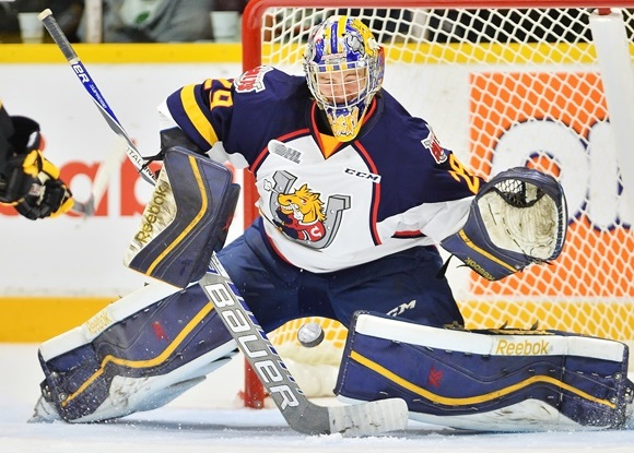 Colts' Blackwood the best of slim OHL group of NHL goaltending properties in 2015-16